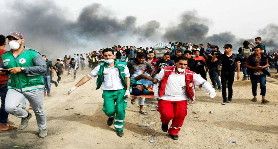 Mobilisation à Gaza: un 2e Palestinien décède, 40 morts depuis fin mars
