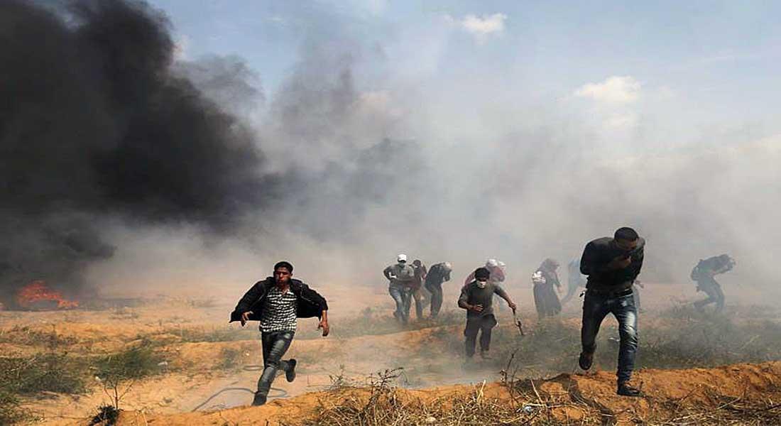 Trois Palestiniens tués par des tirs israêliens, 400 blessés à la limite Gaza-Israël