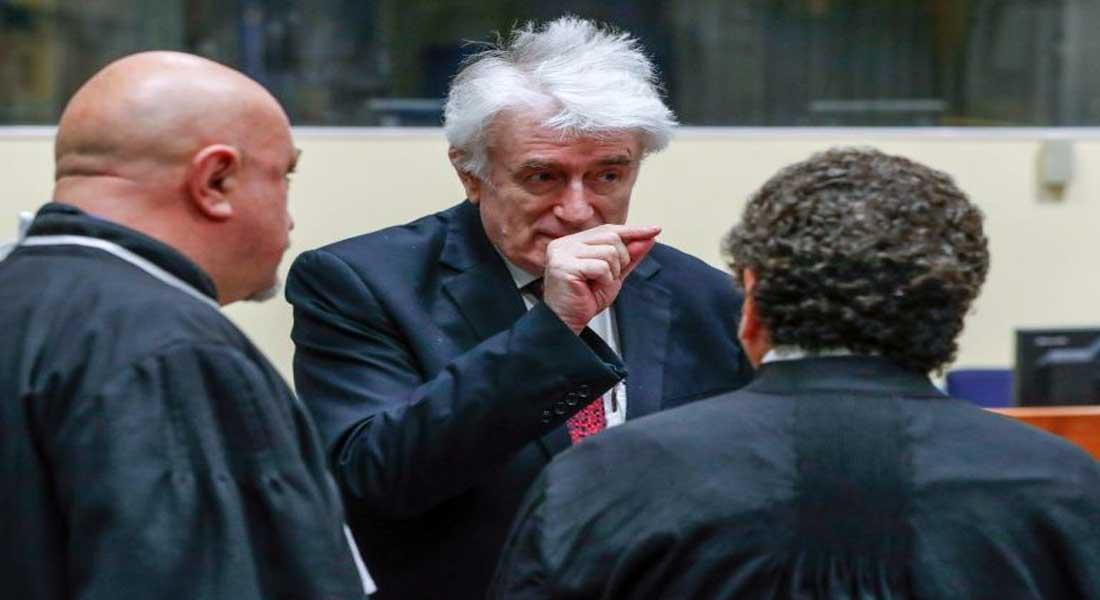 Génocide: le procès en appel de Karadzic s'ouvre à La Haye