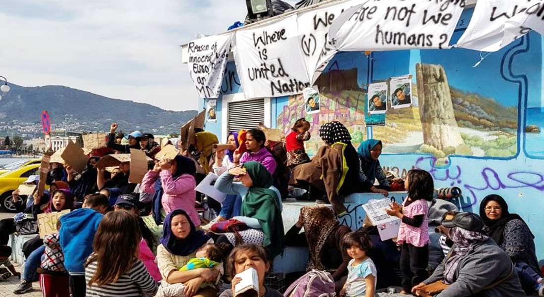Grèce: des migrants blessés à Lesbos après des heurts avec l'extrême-droite