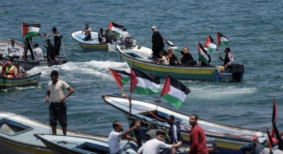 Gaza: Israël arraisonne un bateau de protestataires palestiniens
