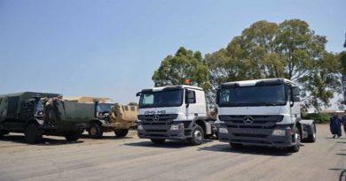 ANP -industrie militaire: livraison de 410 véhicules de marque Mercedes-Benz
