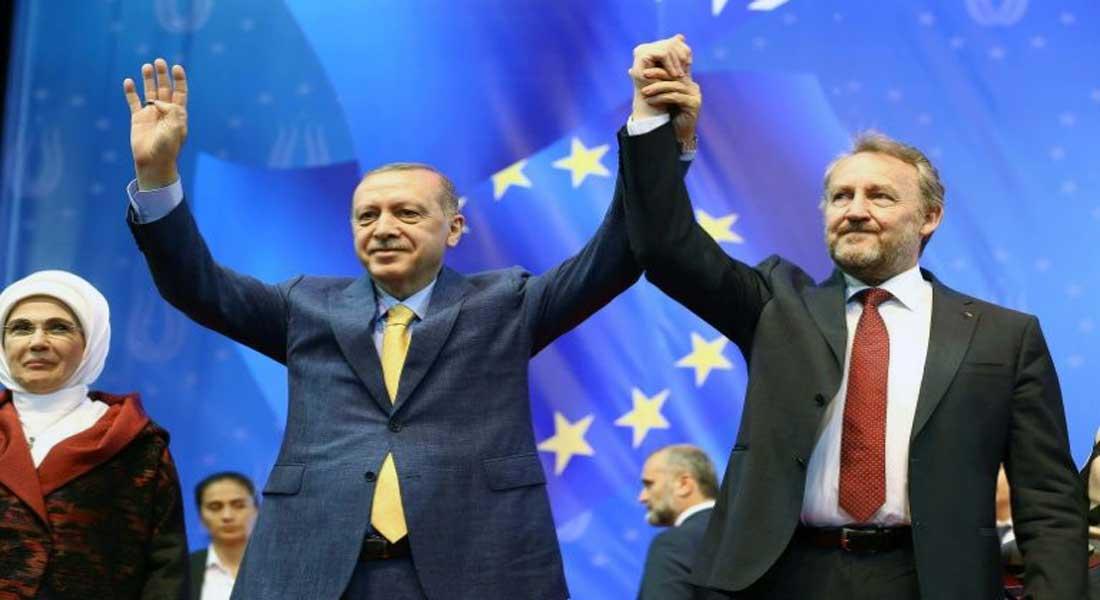 Erdogan espère écrire une nouvelle page  avec les Etats-Unis et l'UE en 2021