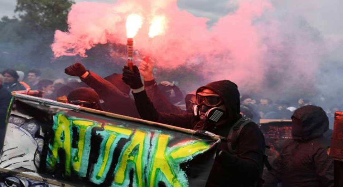 France – 1er Mai: les militants d'ultra gauche font dérailler la manifestation parisienne