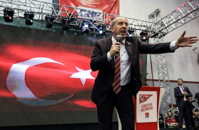 Présidentielle en Turquie : Le député  Muharrem Ince pour affronter Erdogan