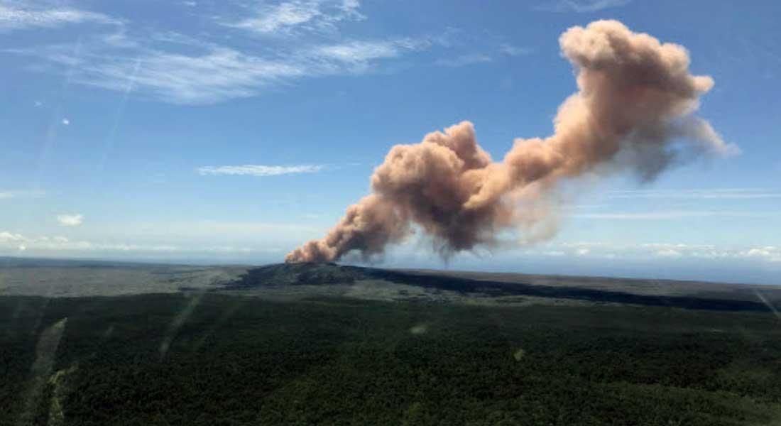 Hawaï : des milliers d'habitants fuient une éruption volcanique