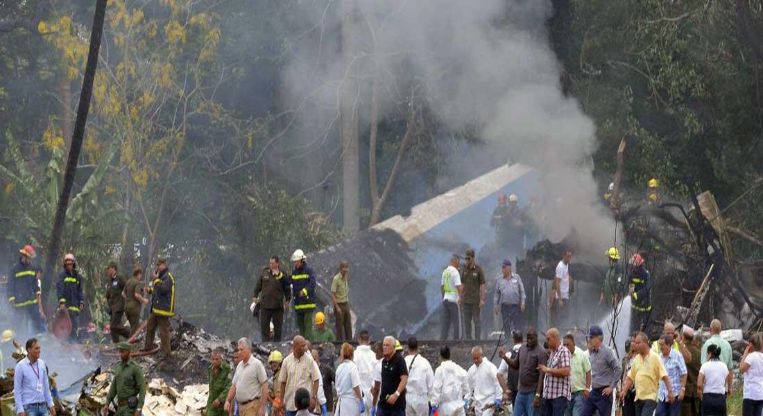 Deuil national à Cuba après un accident d'avion qui a fait 107 morts