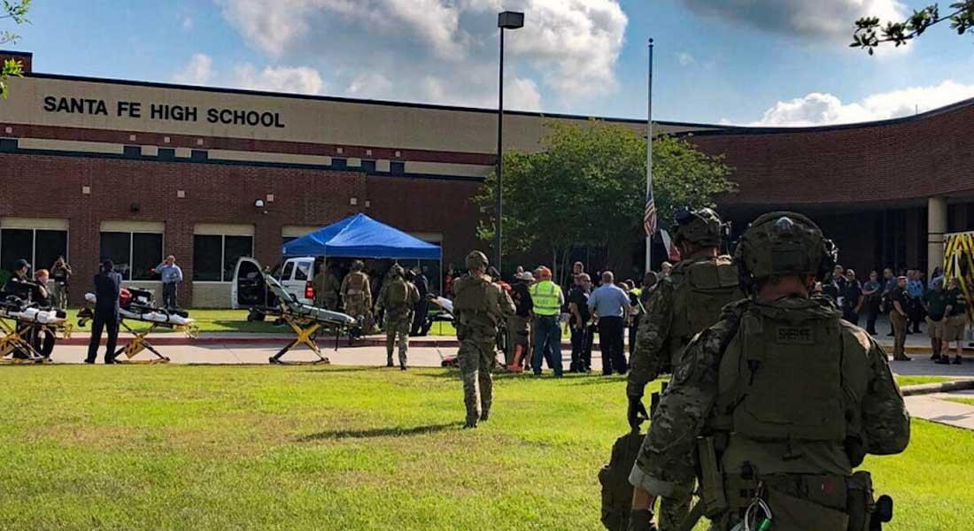 Etas Unis : Un élève abat 10 personnes dans son lycée du Texas avant de se rendre