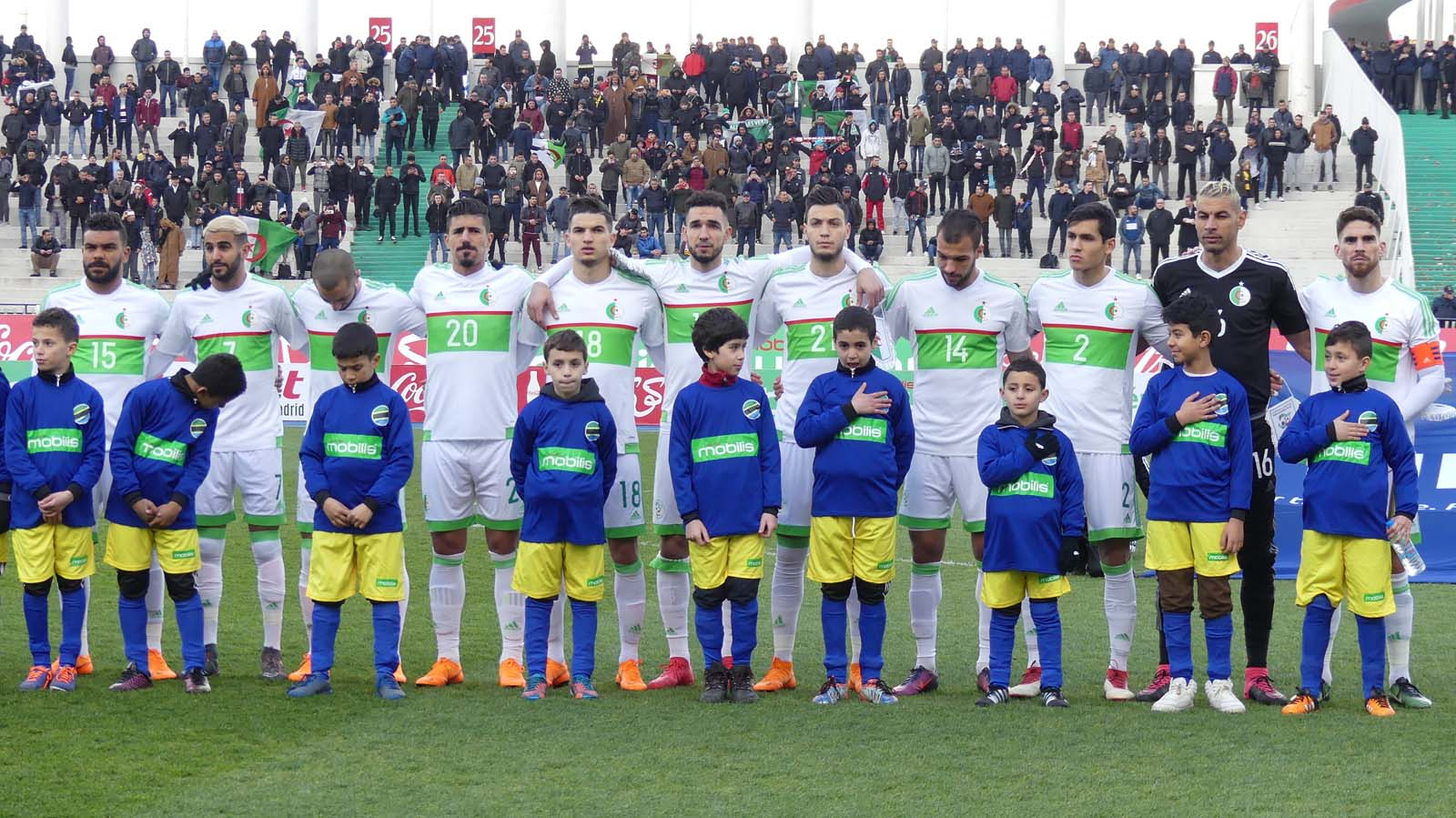 Algérie  – Cap Vert  3 : Des joueurs étaient absents et Chaouchi a fait son show