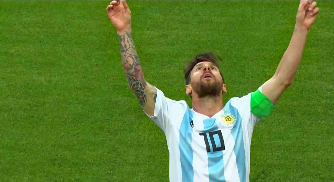 Mondial 2018 : Argentine 2 – Nigéria 1, les camarades de Messi en 8e de justesse, résumé vidéo