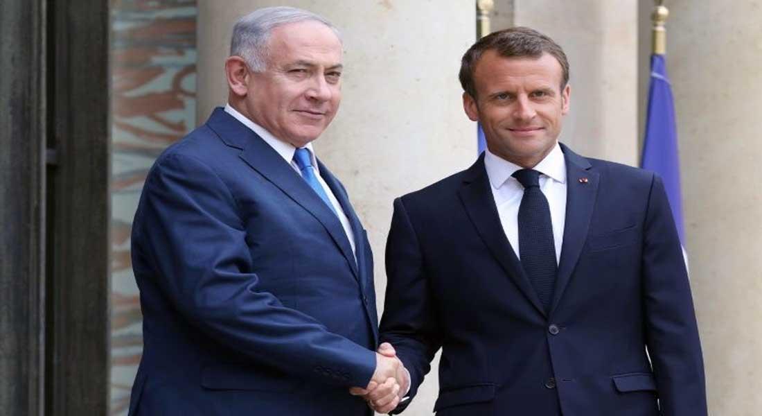 Benjamin Netanyahu chez Macron pour créer un front contre l'Iran