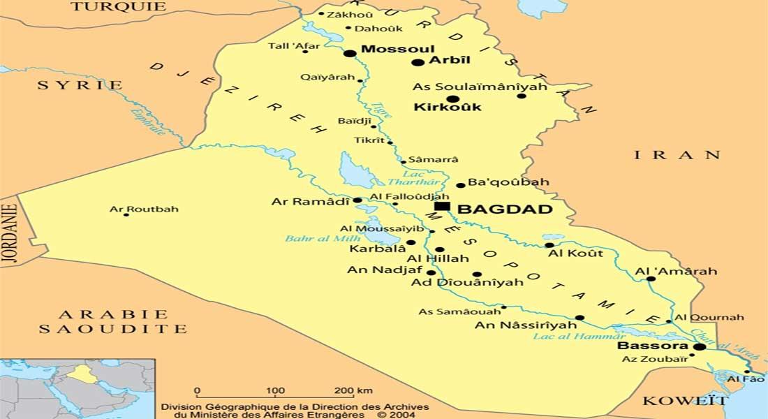 Irak: des roquettes s'abattent sur une base aérienne abritant des soldats américains