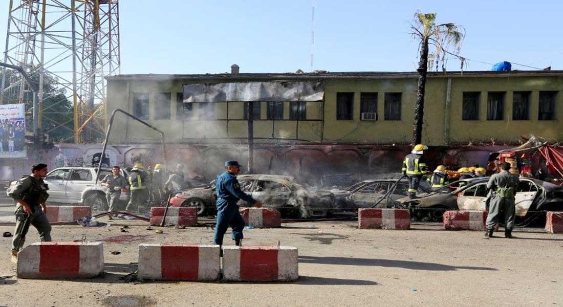 Afghanistan : Explosion à Jalalabad , le triste bilan est de 20 morts