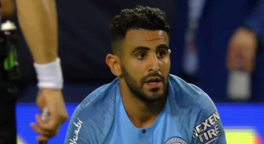 Mahrez passeur décisif face à Sheffield