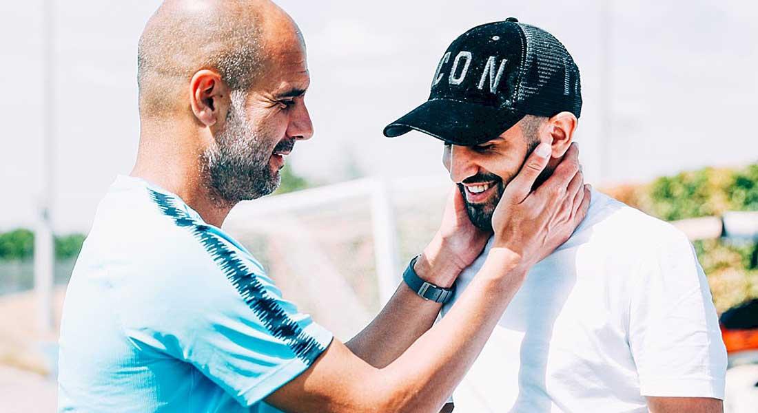 Mahrez s'offre un bon triplé face à Burnley (vidéo)