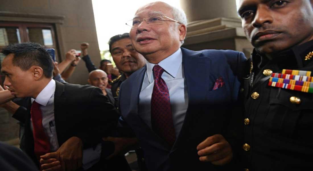 Malaisie: l'ancien Premier ministre Najib inculpé pour des pots de vin