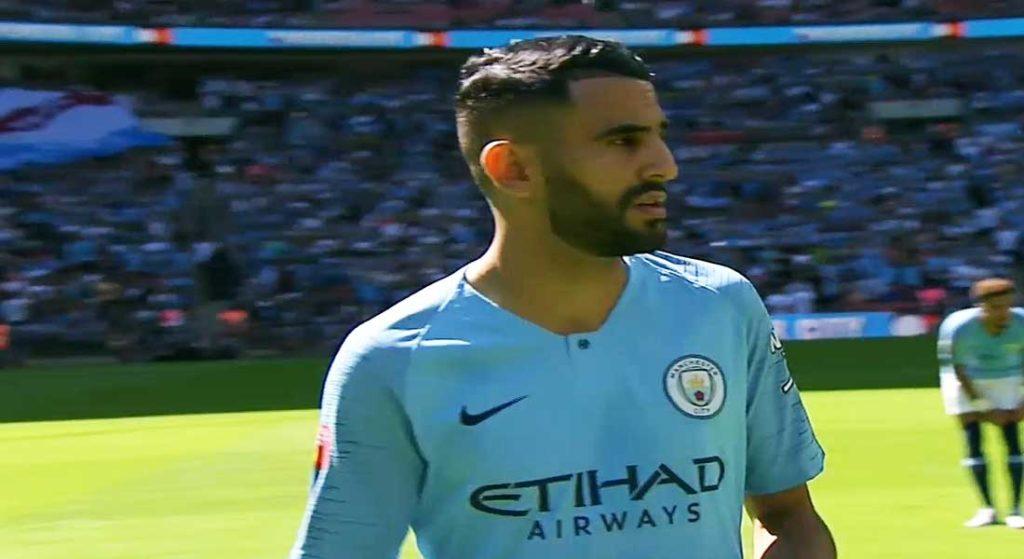 La passe décisive de Riyad Mahrez face à Everton