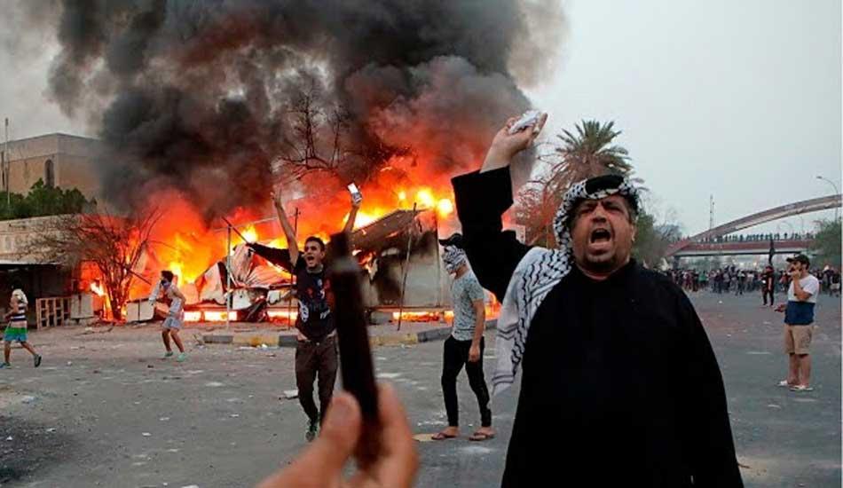Bassora – Irak : 12 morts lors du soulèvement populaire contre la misère sociale