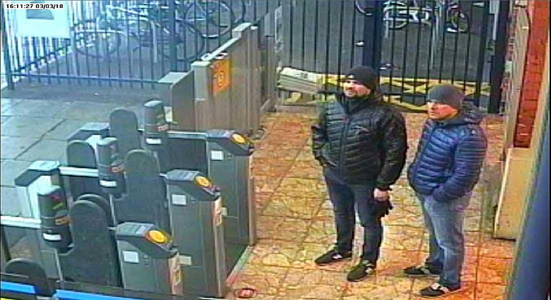 Novitchok: Les anglais lancent un mandat d'arrêt contre deux agents russes