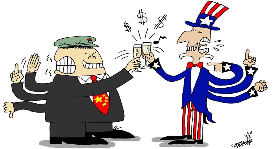 La Grande Bretagne  demande au G7 de se montrer ferme avec la Chine sur le commerce