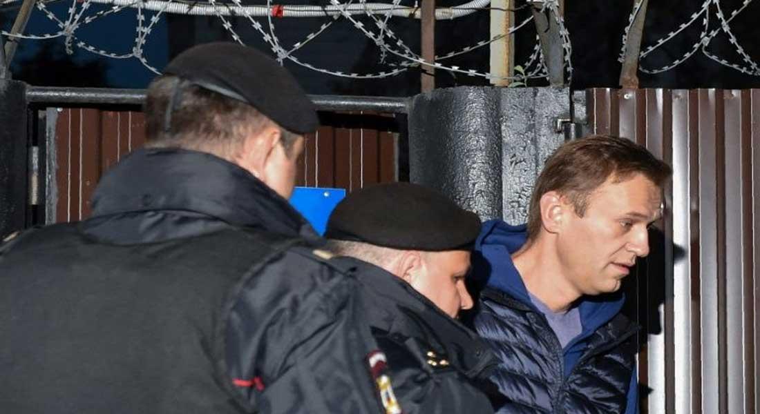 Russie : des dizaines de milliers de manifestants pro Navalny, 2.500 arrestations