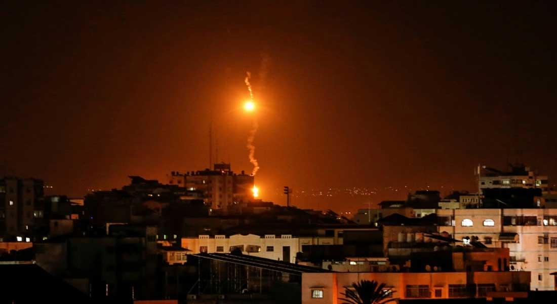 Deux roquettes tirées depuis Gaza sur Israël, l'armée sioniste bombarde Gaza