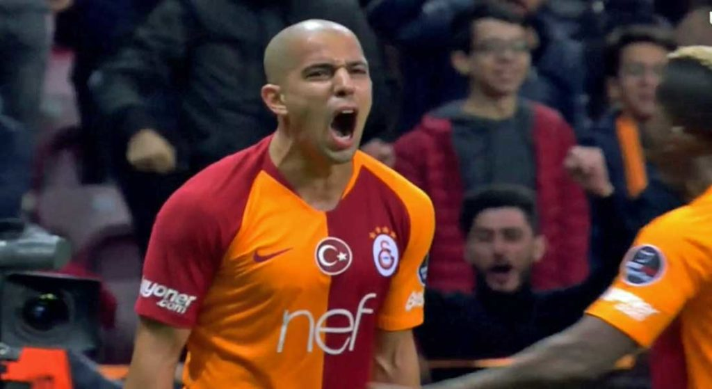 Le but de Feghouli face à Sivasspor