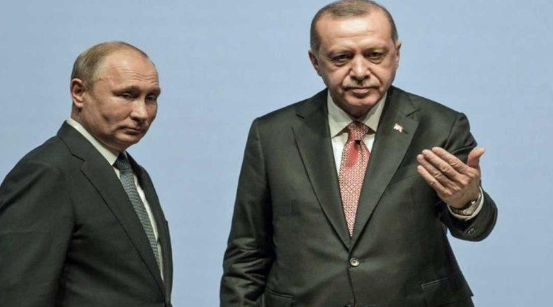 Rencontre à Moscou entre Poutine et Erdogan pour discuter du problème Syrien