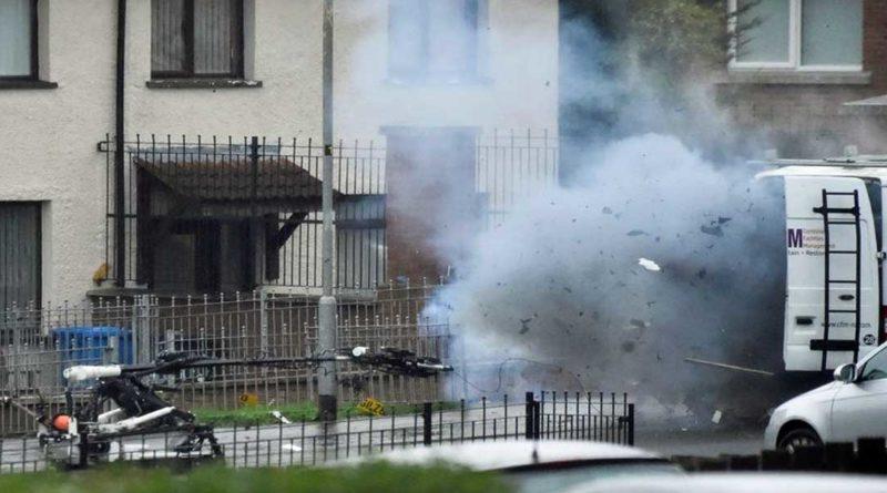 Irlande du Nord : L'armée fait exploser un véhicule suspect à Londonderry