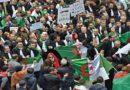 """Manifestation des avocats dans la rue à Alger pour demander le départ du """"système"""""""