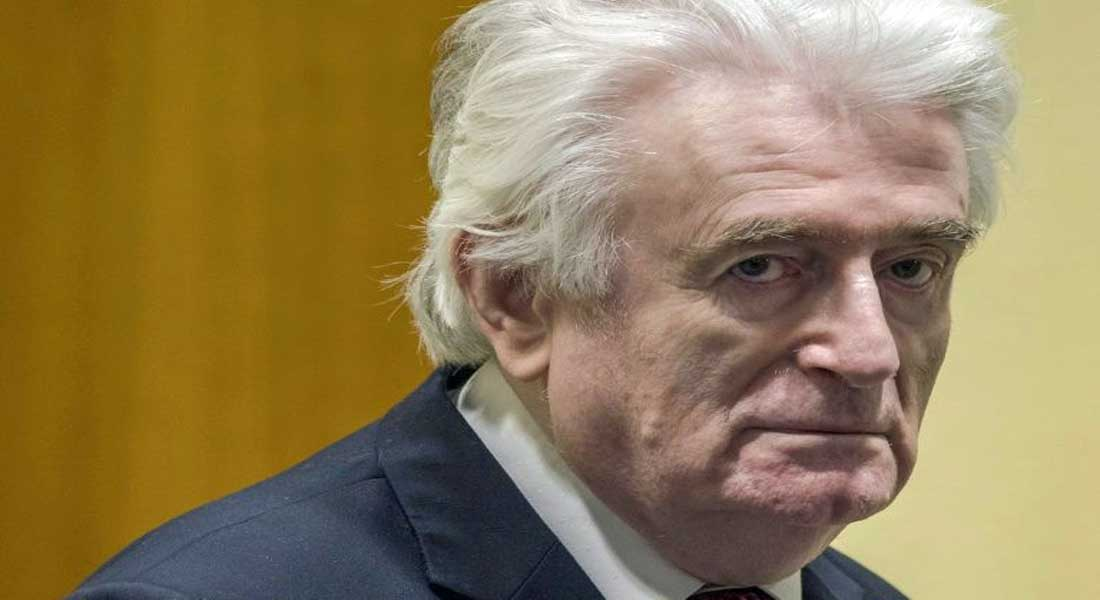 La justice internationale condamne en appel l'ex-chef politique des Serbes de Bosnie Radovan Karadzic à la prison à vie
