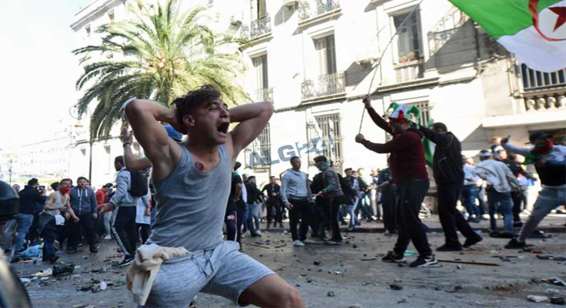 Grande manifestation à Alger, le pouvoir réprime les manifestants à place Audin