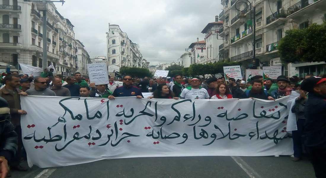 Les Algériens sortent dans la rue, sans incident, pour un 9e vendredi consécutif