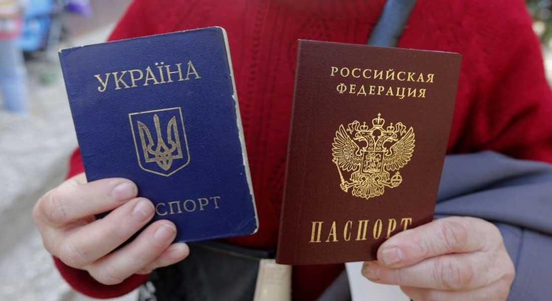Poutine justifie sa décision de faciliter l'octroi de passeports russes aux habitants  séparatistes de l'est de l'Ukraine