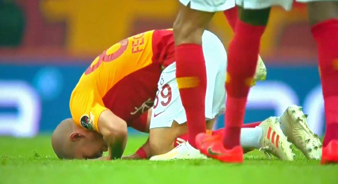 Le but retourné acrobatique de Feghouli face à Basaksehir, vidéo