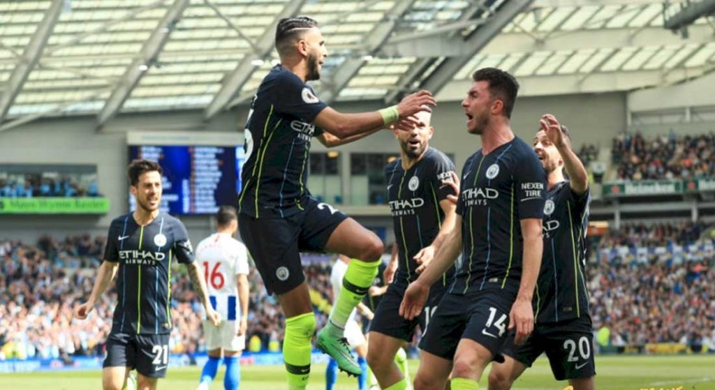 Le triplet de Mahrez face à Burnley