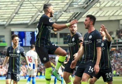 Mahrez remporte son deuxième titre de Premier League avec Manchester city, vidéo