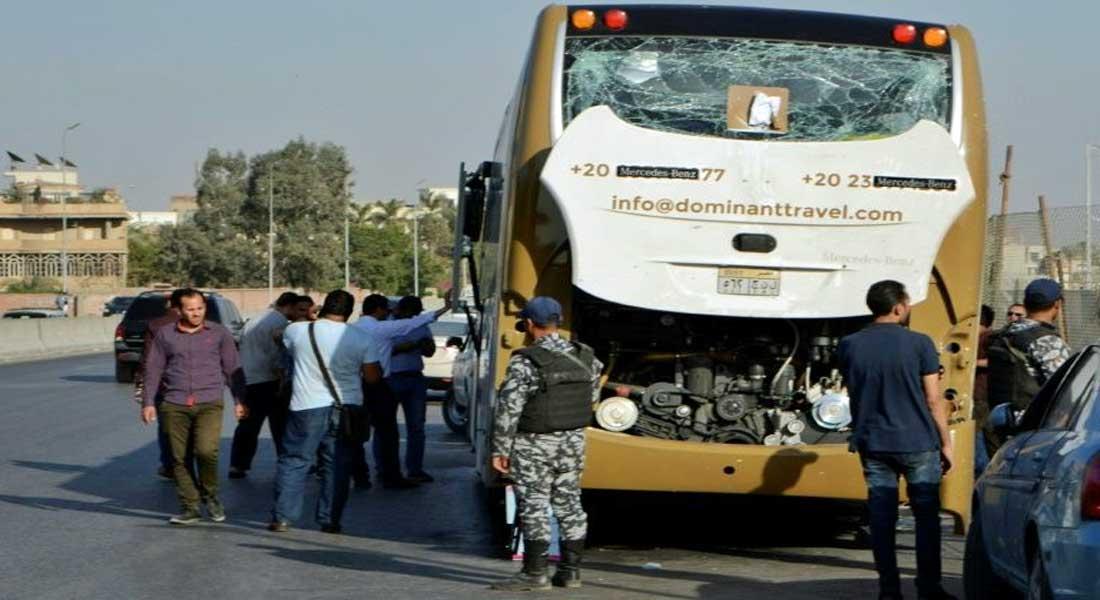 Egypte: 17 blessés dans un attentat contre des touristes au sud-ouest du Caire