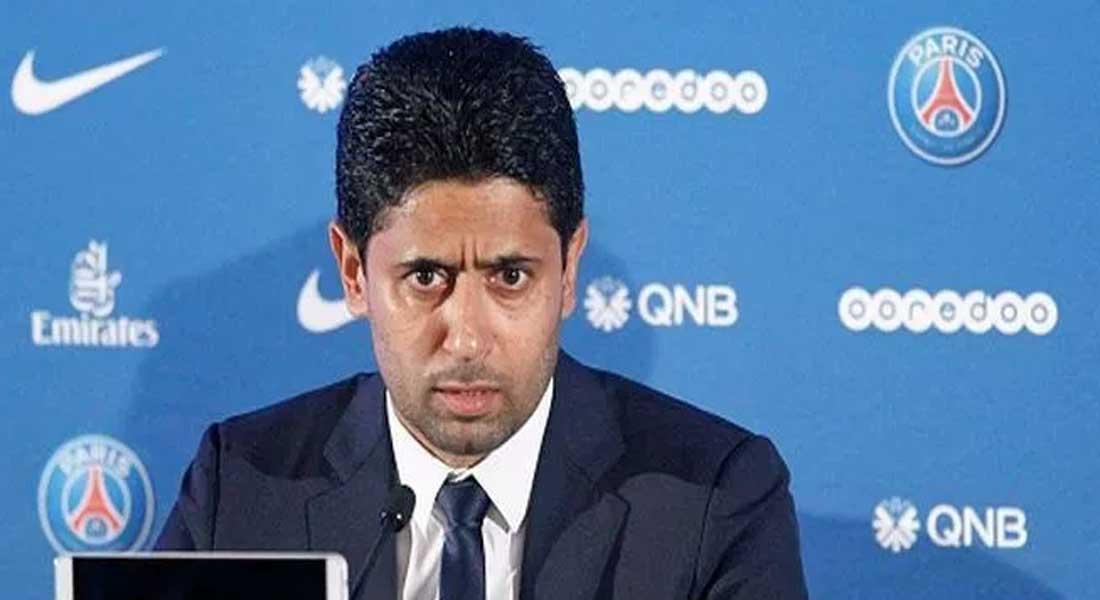 """Mondiaux d'athlétisme au Qatar: le boss du PSG, Nasser Al-Khelaïfi, mis en examen pour """"corruption active"""""""