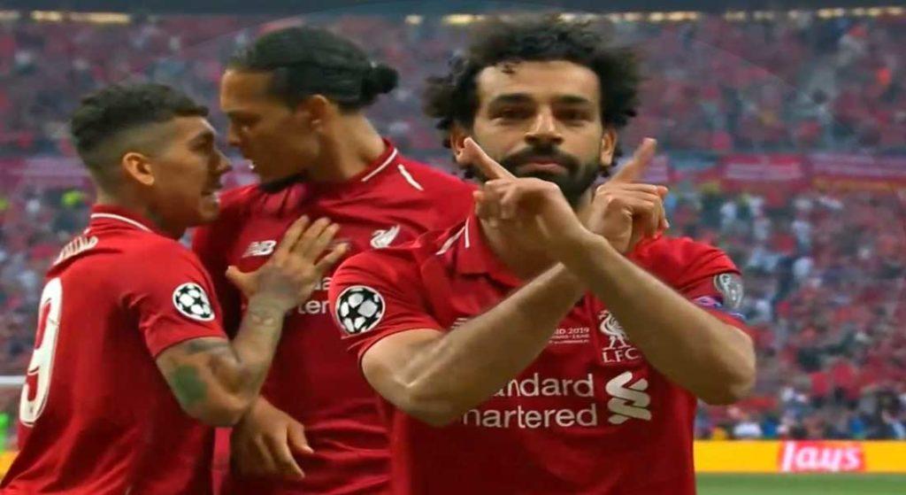 Ligue des champions UEFA : Liverpool 2 – Tottenham 0