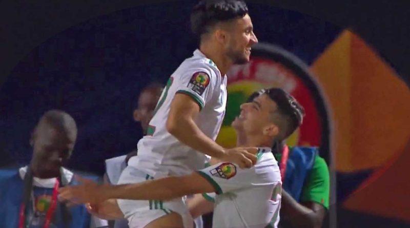 CAN 2019 :  L'Algérie bat la Guinée 3-0 et réserve sa place en quarts, vidéo