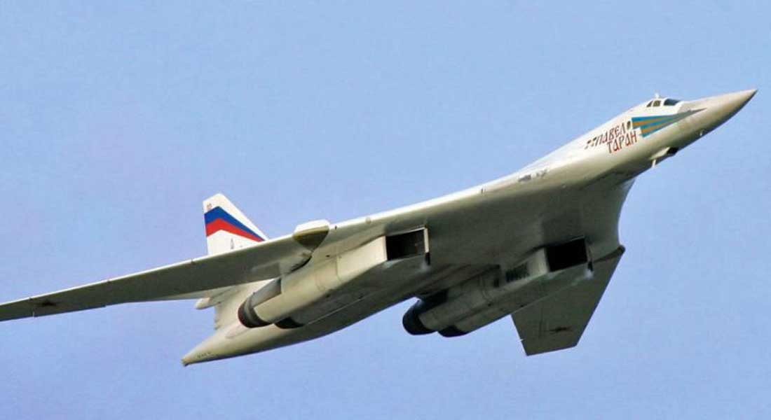 Un MIG-31 russe escorte un avion américain dans l'Arctique