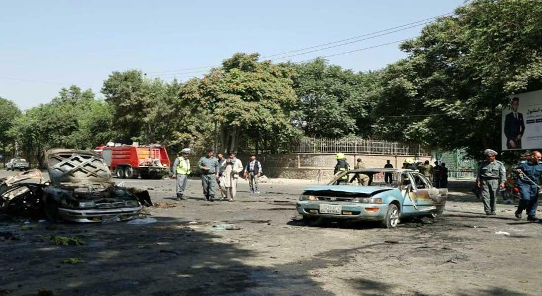 Afghanistan: explosion près de l'université de Kaboul, bilan de 8 morts au moins