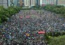 Hong Kong Manifestation immense du mouvement prodémocratie