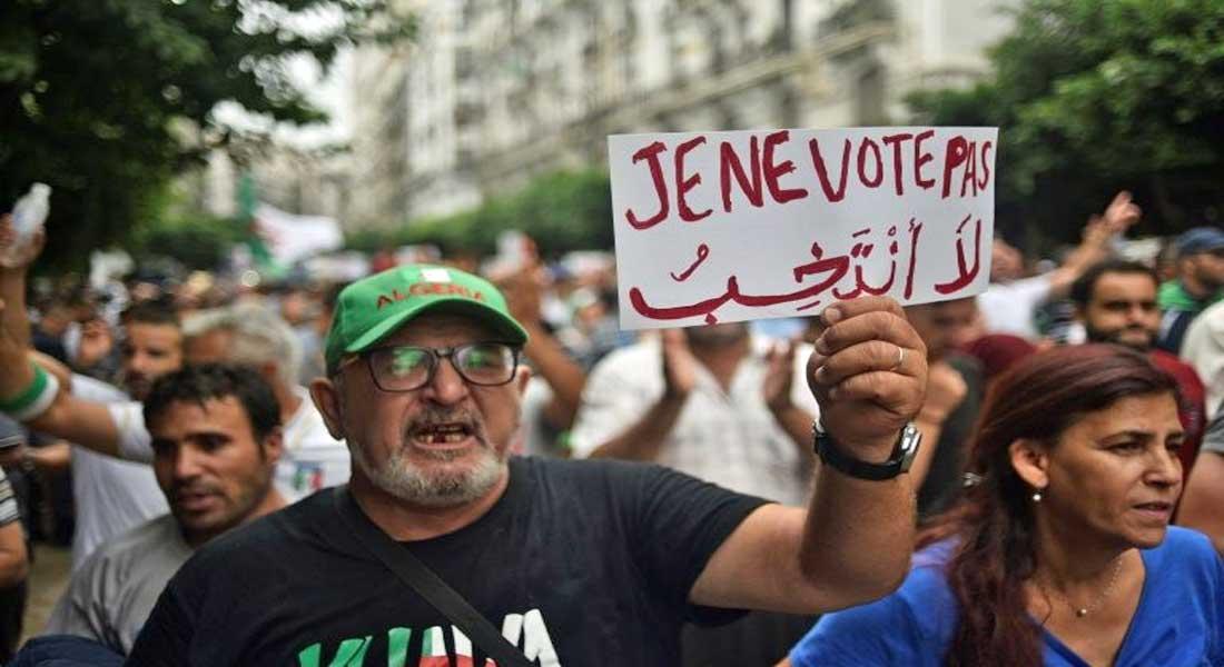 Le peuple ne veut pas d'élections avant le départ total de la bande