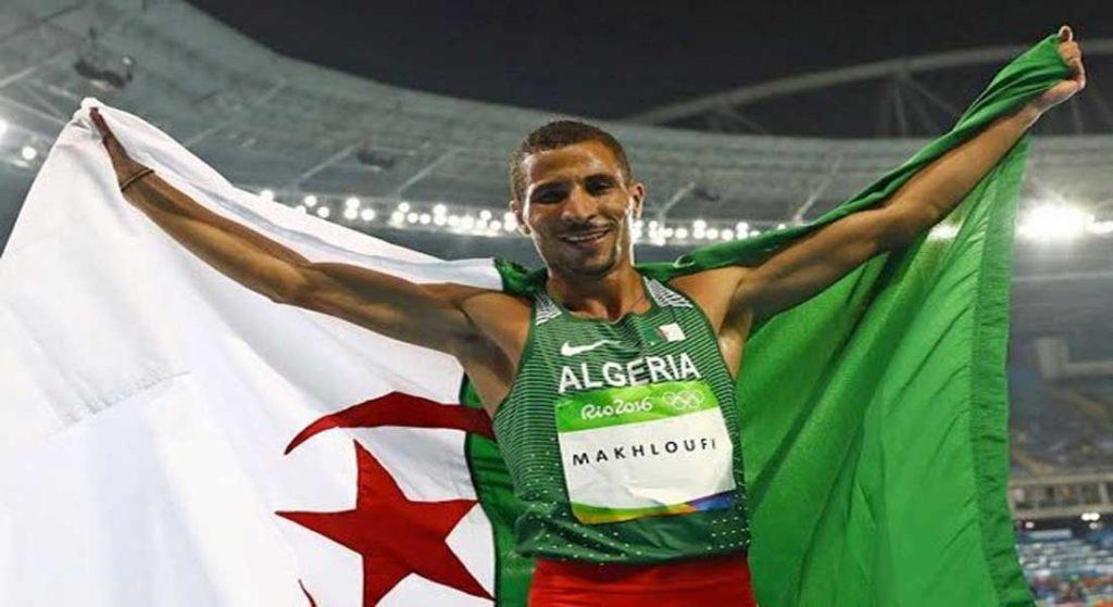 Makhloufi Médaillé d'argent au 1500m – Mondial de Doha