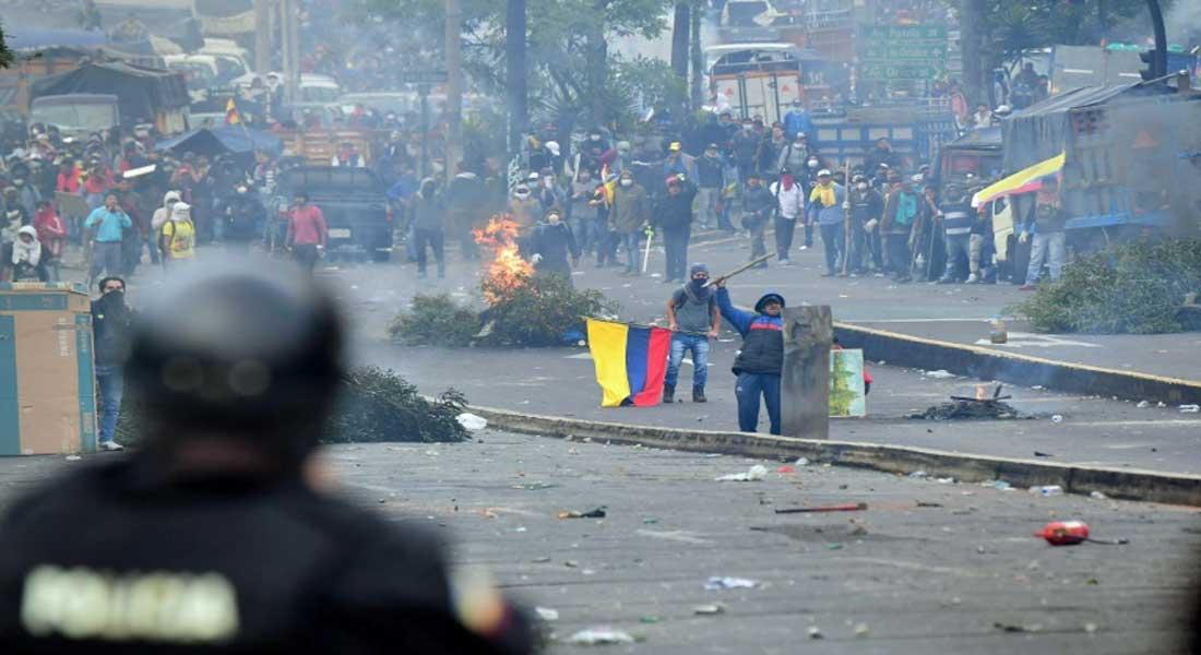 Le président équatorien Lenin Moreno a ordonné mardi un couvre-feu
