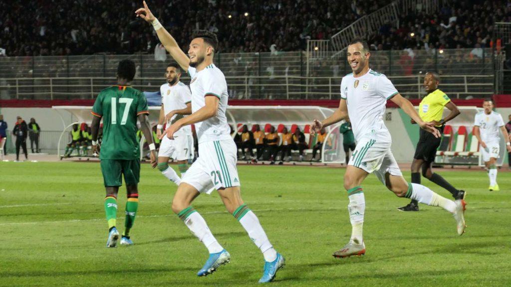 QCAN 2021 : Algérie 5 – Zambie 0
