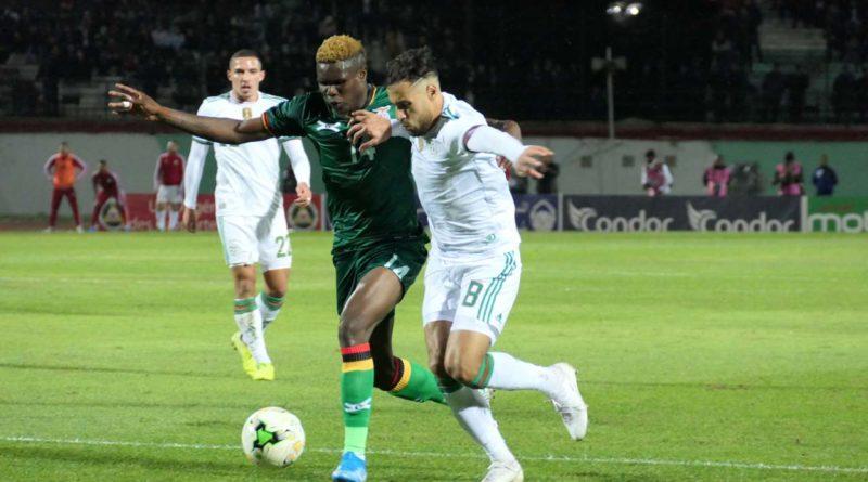 QCAN 2021 : L'Algérie bat la Zambie 5-0, viéo