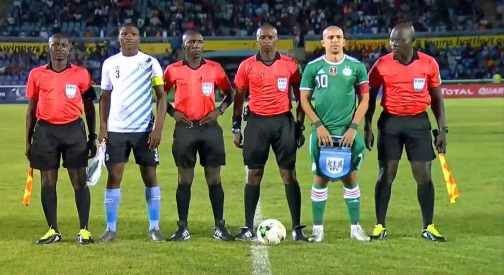 Botswana 0 – Algérie 1
